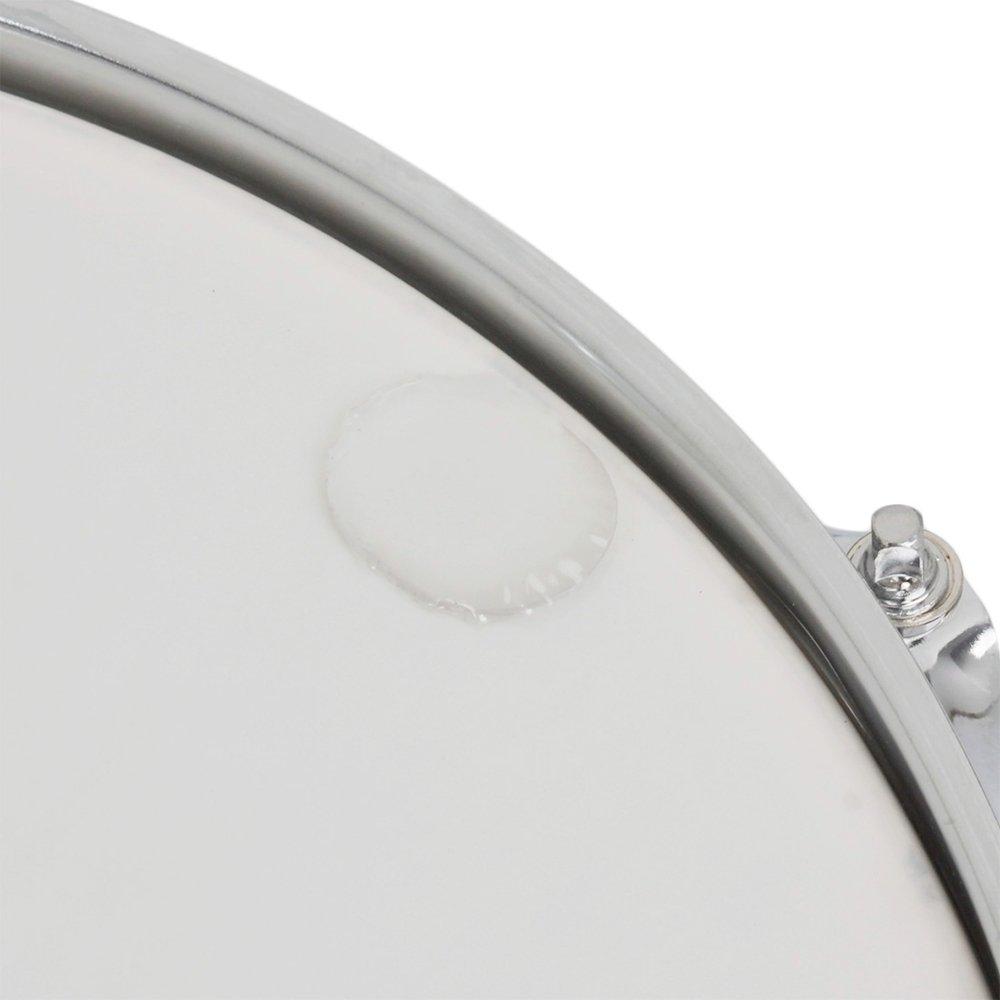 transparente CUHAWUDBA 6 piezas//juego caja de tambor de la almohadilla de silencio Almohadillas de gel amortiguador tom trampa silenciador Silenciar los accesorios de instrumentos de percusion