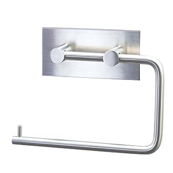 PHOEWON Selbstklebend Papierhalter Bad WC Papierhalter Rollenhalter ...