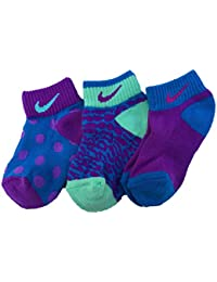 Girls Graphic Performance Lightweight Low-Cut Socks (3 Pair) · NIKE