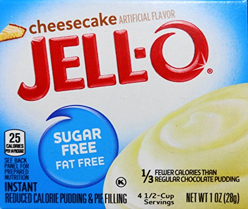 Jell-O Cheesecake Sugar Free Pudding & Pie Filling (3-Pack) ()