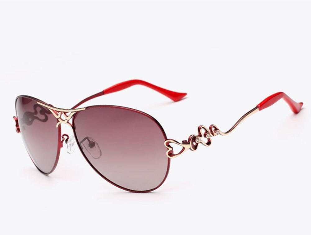 HETAO Persönlichkeit Fashion Lady Polarized Sonnenbrillen Mirror Gradient Polarized Mirror Sonnenbrillen Weibliche Modelle Dekorative Gläser 4acd25