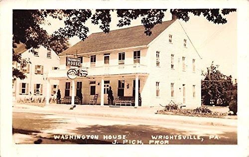 Washington House Wrightsville Pennsylvania Postcard At Amazon S