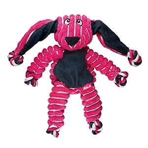 Amazon.com: KONG Floppy Knots Bunny, Dog Toy, Medium/Large