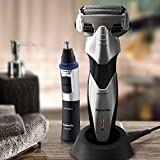 Panasonic Arc Precision Shaver (ES-SL83-S) And Personal Trimmer (ER-GN30-K) Combo Pack
