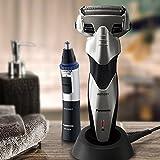 Panasonic Men's Arc Precision Shaving West/Dry Shaver (ES-SL83-S) and Personal Trimmer (ER-GN30-K) Combo Kit (Universal Voltage)