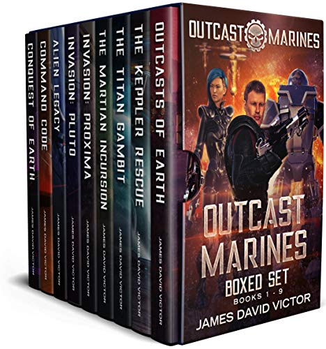 Outcast Marines Boxed Set by [Victor, James David]