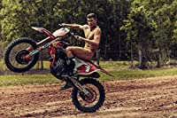Ryan Dungey Sports Poster Photo Limited Print Motocross Racer Naked Nude Sexy Celebrity Olympics Athlete Size 24x36 #1