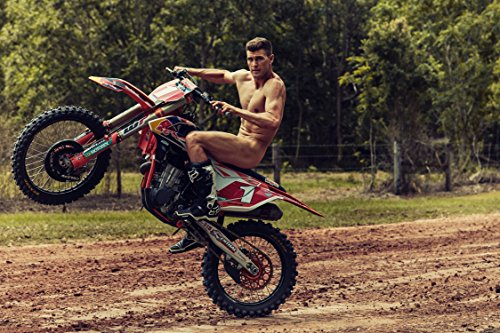 (Ryan Dungey Sports Poster Photo Limited Print Motocross Racer Naked Nude Sexy Celebrity Olympics Athlete Size 24x36 #1)