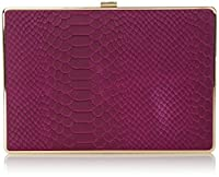Ivanka Trump Ivanka Box Minaudiere Clutch, Fuchsia, One Size