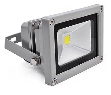 10W LED Fluter Gartenstrahler Scheinwerfer Kaltweiß Flutlicht Außen Fluter IP65