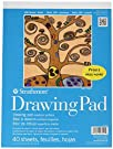 "Strathmore 27-109 100 Series Youth Drawing Pad, 9""x12"" Tape Bound, 40 Sheets"
