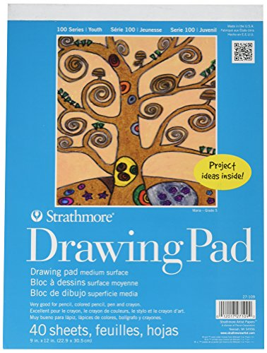 Strathmore 27-109) 100 Series Youth Drawing Pad, 9 by 12