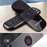 2.4g smart tv wireless keyboard multifunctional remote control portable For PC Tablet PC HTPC IPTV Web TV Smart TV Google TV Android TV Box Stick Home Appliances etc