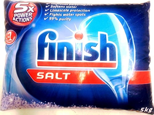 Finish Dishwasher Recommended softener container