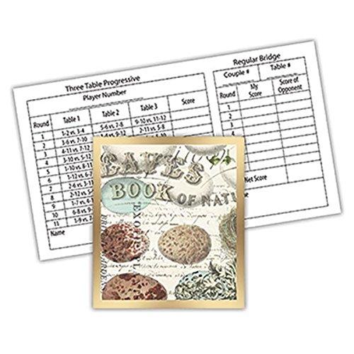 Michel Design Works Bridge 12-Count Score Card Tallies, Nest & Eggs,