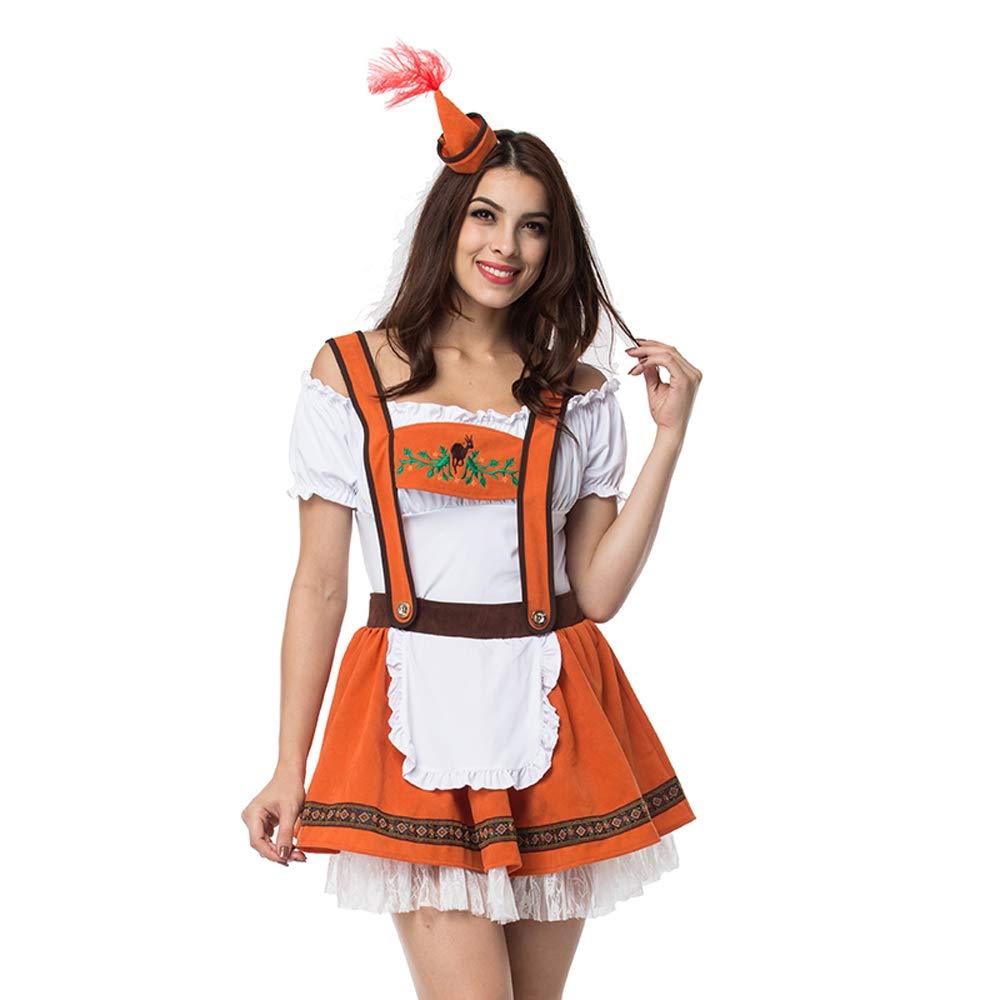 Amazon.com: Coswe - Vestido tirolés alemán para mujer con ...