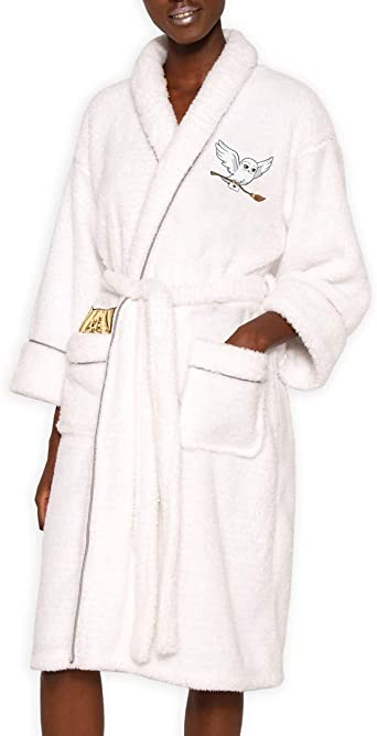 housecoat robe pyjamas HARRY POTTER ** GOLD EMBROIDERED LOGO** Dressing gown