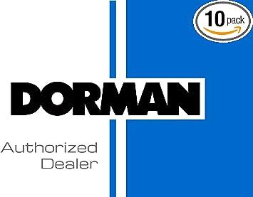 10 Pack 14.94mm Knurl 35.5mm Length for Select Volkswagen Models Dorman 610-246 Rear M14-1.50 Serrated Wheel Stud