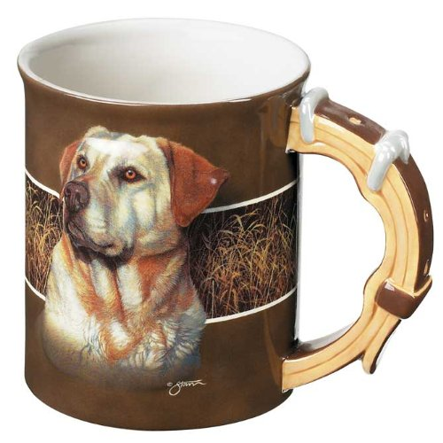 - Yellow Lab Sculpted Mug