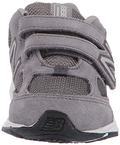 New Balance Boys' 888v2 Hook and Loop Running Shoe Dark Grey, 2 M US Infant by New Balance (Image #4)