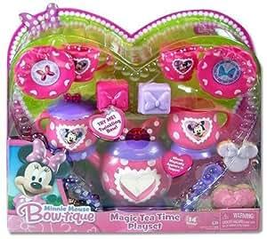 Disney Minnie Mouse Bow-tique Magic Tea Time Playset