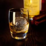 Whiskey Rounders Sphere Ice Mold - Silicone Ice Ball Maker Tray Makes...