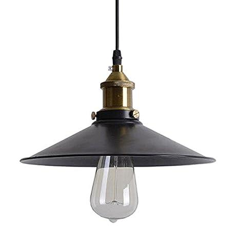 Luz de techo industrial, SUN RUN Lámpara creativa de luz retro lámparas lámpara colgante de