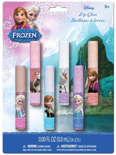 - Frozen Lip Gloss Wands, 6 Count