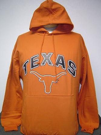 Texas Longhorn University Hoodie Size Medium Big Ball Sport New