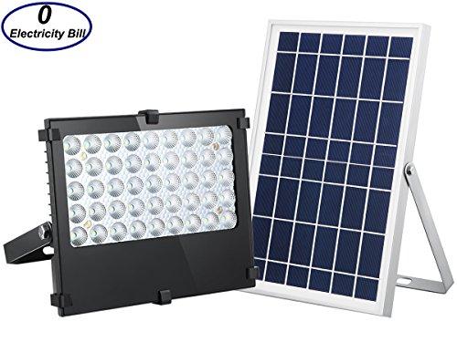 Solar Flood Light 1000 Lumens Outdoor Solar Security Light Auto ON/OFF Dusk  To Dawn