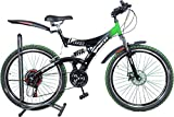 Atlas Stun D/S 26 T 18 Speed Mountain Cycle (Red, Green)
