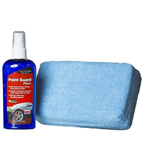 Paint Car Care Exterior - Ultima Paint Guard Plus Season Long Protectant Sealant 4 oz Bottle and Applicator Kit for Auto Truck RV