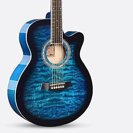 Un instrumento de guitarra guitarra electrica / madera,B: Amazon.es: Instrumentos musicales