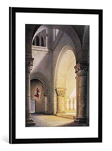 (kunst für alle Framed Art Print: Hans-Werner SAHM Halleluja - Decorative Fine Art Poster, Picture with Frame, 15.7x19.7 inch / 40x50 cm, Black/Edge)