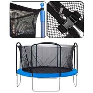 Amazon.com: Negro 12-Foot Trampoline Enclosure Seguridad ...