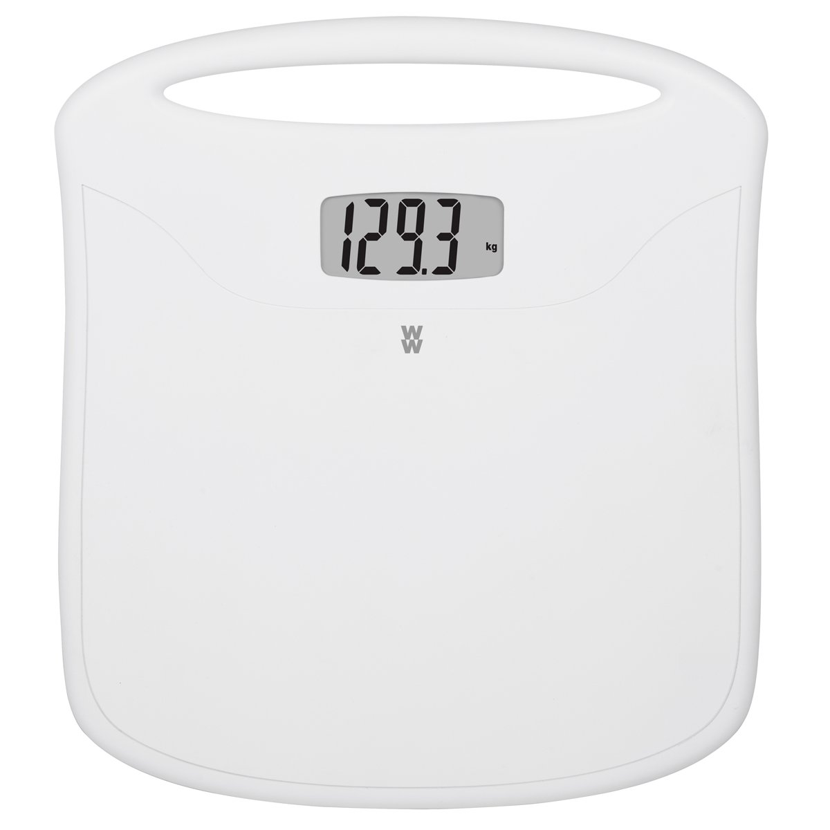 Weight Watchers Digital portable scale with handle, 3.3 lb, White Manufacturer WW12C