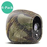 Silicone Skins Compatible for Arlo Security Cameras, Taken Protective Cover Case for Arlo HD Wireless Camera, for Netgear Accessories (4 Pack, Camouflage) For Sale