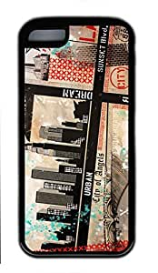 Soft Rubber TPU Case Cover for iPhone 5C Slim Single Back Phone Shell Skin iPhone 5C with Chicago City