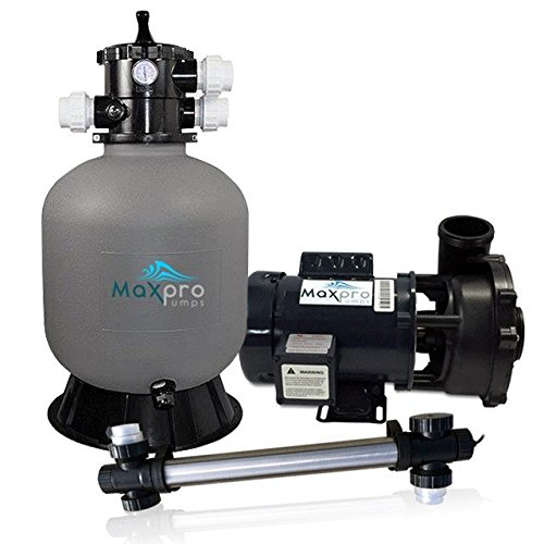 MaxPro Pumps MPLPP4000 Legend Pond Filtration Package, 4000 gal