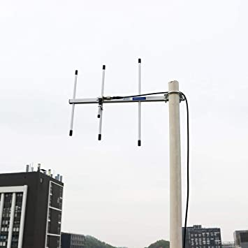 Ailunce AY01 Yagi Antena Base de Antena con Conector UHF-Female portátil de Alta Ganancia Walkie Talkie Antena Compatible Retevis H-777 RT21 RT83 ...