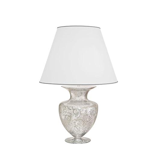 Kolarz estilo modernista - Lámpara de mesa (cromo, Plástico ...