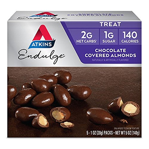 Atkins Endulge Pieces - Chocolate Covered Almonds - 5 ct - 1 oz by Atkins