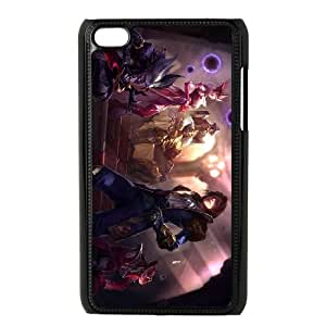 iPod Touch 4 Case Black League of Legends Jack of Hearts Twisted Fate GYV9422584