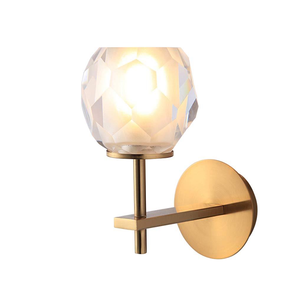 Nordic Wandleuchte Schlafzimmer Bett Moderne Einfachheit Gang Gold Kreative Persönlichkeit Wohnzimmer Badezimmer Spiegel Scheinwerfer,F
