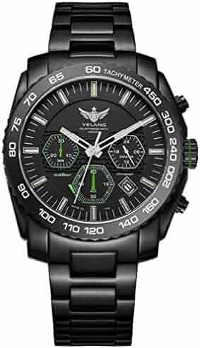 Shopping Wrist Brown Black Watches Or Luminous Metal Ybv6yf7g