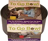 Furry Travelers To Go Pet Bowl, Silver, My Pet Supplies