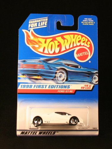 1998-first-editions-14-ford-gt-90-668-condition-mattel-hot-wheels-164-scale