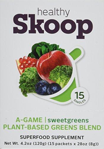 Healthy Skoop plant based organic Sweetgreens
