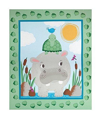 Mook Fabrics Hippo 36'' Panel Fabric, ()