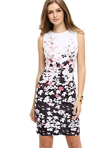 Floerns Womens Sleeveless Cocktail Bodycon product image